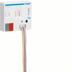 2 entrées libres de potentiel+2 sorties indication d'état à encastrer (TXB322) - HAGER