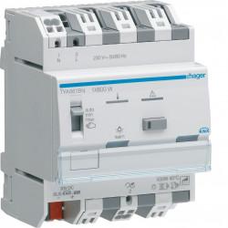 Module de sortie pour l'éclairage variable : 1 sortie directe 600W (TYA661BN) - HAGER
