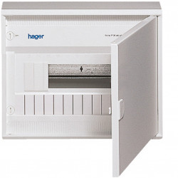 Coffret gala saillie 1 rangée 12 modules (VA12D) - HAGER