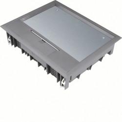 Boîte de sol 18 mod. revêt. sol 12mm gr (VE09127011) - HAGER