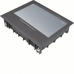 Boîte de sol 18 mod. revêt sol 12mm nr (VE09129005) - HAGER