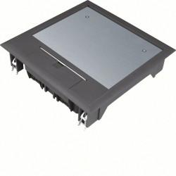 Boîte de sol 12 modules grise (VQ06059005) - HAGER