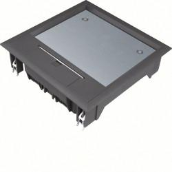 Boîte de sol 12 mod. revêt. sol 12mm nr (VQ06129005) - HAGER