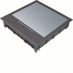 Boîte de sol 24 modules noire (VQ12059005) - HAGER