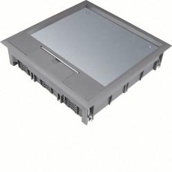 Boîte de sol 24 mod. revêt. sol 12mm gr (VQ12127011) - HAGER