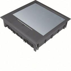 Boîte de sol 24 mod. revêt. sol 12mm nr (VQ12129005) - HAGER