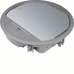 Boîte de sol ronde 20 modules diam 294mm encastrement diam 275mm noire (VR10057011) - HAGER