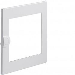 Porte transparente volta 2 - 1 rangée pour coffret VU12ND PVC poignée intégrée (VZ131N) - HAGER