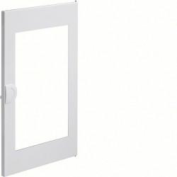 Porte transparente volta 2 - 2 rangées pour coffret VU24ND PVC poignée intégrée (VZ132N) - HAGER