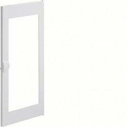 Porte transparente volta 2 - 3 rangées pour coffret VU36ND PVC poignée intégrée (VZ133N) - HAGER