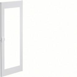 Porte transparente volta 2 - 4 rangées pour coffret VU48ND PVC poignée intégrée (VZ134N) - HAGER