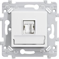 essensya prise RJ45 Catégorie 5e UTP pour Grade 1 Blanc (WE211) - HAGER