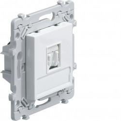 essensya prise RJ45 Catégorie 5e FTP pour Grade 1 à griffes Blanc (WE214G) - HAGER