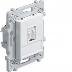 essensya prise RJ45 Catégorie 6 UTP pour Grade 1 Blanc (WE220) - HAGER