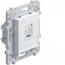 essensya prise RJ45 Catégorie 6 STP pour Grade 3 Blanc (WE226) - HAGER