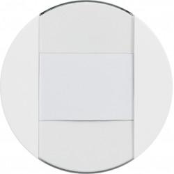 ateha interrupteur ou poussoir à fermeture 1F porte-étiquette 1F associable (WJA025) - HAGER