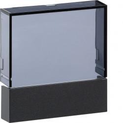 Kallysta enjoliveur thermostat d'ambiance programmable ecran TFT Carbone (WKT960C) - HAGER
