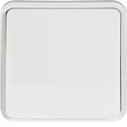 cubyko Poussoir à fermeture 1F associable blanc IP55 (WNA020B) - HAGER