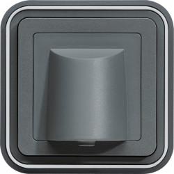 cubyko Sortie de câble encastrée gris (WNE155) - HAGER