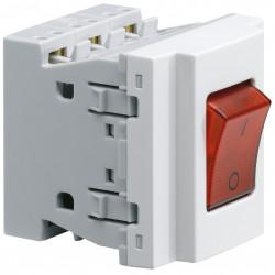 Systo interrupteur spécial goulotte 16A pour prise multiple (WS136) - HAGER