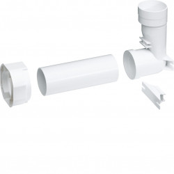 Kallysta kit de raccordement pour prise d'aspiration centralisée (WUZ670) - HAGER