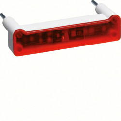 """Kallysta Lampe pour signalisation  forme """"I"""" 250V rouge (WUZ695) - HAGER"""