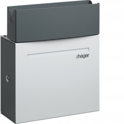 Witty borne de charge IP21 4-7kW M3T2S pour 1 VE (XEV092) - HAGER