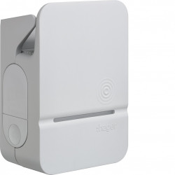 Witty borne de charge IP54 11-22kW M3T2S M2TE RFID IP pour 1 VE (XEV202C) - HAGER