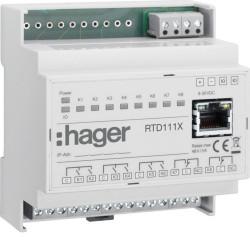 Relais de réseau IP (RTD111X) - HAGER