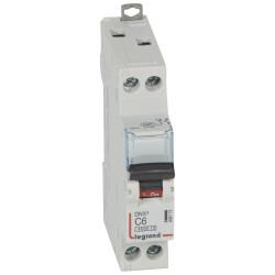 Disjoncteur DNX 6A - Uni+N -230 V- À Vis (406772) - LEGRAND