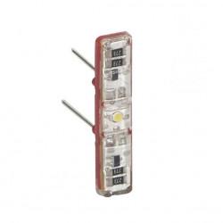 Voyant témoin 230 V Céliane - pour câblage phase distribuée (067688) -