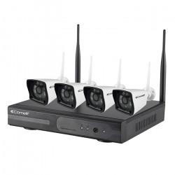 Kit de vidéosurveillance IP66 WIFI (WIKIT040A) - COMELIT