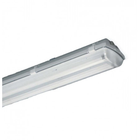 Luminaire etanche 2x58W Ballast electronique polycarbornate (0090365) - LIGHTING