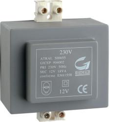 Transformateur 230V 12V 18VA (A7901) - HAGER