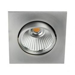 Spot LED Carré 6W 3000K Alu - INDIGO
