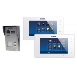 Kit interphone 2 logements avec tablettes tactiles - FERMAX