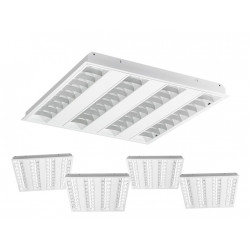 Lot de 5 pavés LED 600x600 3240lm dimmables - SYLVANIA