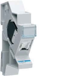 Connecteur RJ45 cat.6a+ support modulaire pour grade 3TV (TN008S) - HAGER