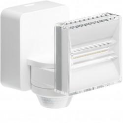 Projecteur LED 8 W + détecteur, blanc (EE631) - HAGER