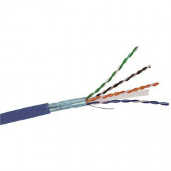 500m de câble C6 F-UTP 1X4P LSZH - Cable