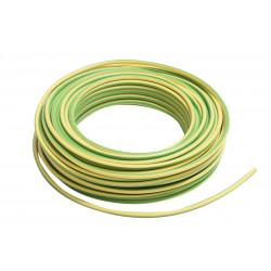 100m de câble H07V-R 1G25 fil vert-jaune - Cable