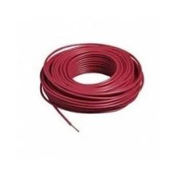 100m de câble H07V-R 1X25 fil rouge - Cable