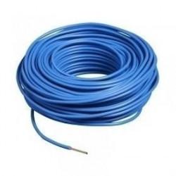 100m de câble H07V-R 1G25 fil bleu - Cable