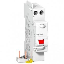 ProDis Vigi TG40 - bloc différentiel 1P+N 25A 30mA instantané type AC 230Vca - SCHNEIDER