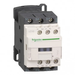 TeSys D contacteur LC1D 3P AC3 440V 9A bobine 400Vca - SCHNEIDER