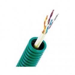 Gaine préfilée F/UTP CAT 4X2XA - Cable