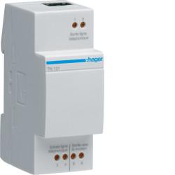 Filtre ADSL modulaire + cordons raccordements (TN121) - HAGER