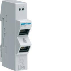 Répartiteur téléphone analogique 2 sorties RJ45 (TN141) - HAGER