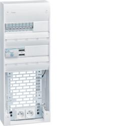 Coffret VDI semi-équipé 2R-26M+PL, Gr.3 (TN423) - HAGER