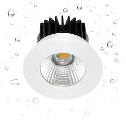Spot encastré rond fixe LED Blanc 4000K - INDIGO